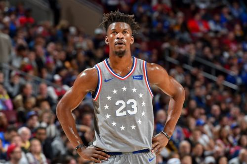 Jimmy Butler Drops 28 Points, 7 Assists in Sixers Home Debut