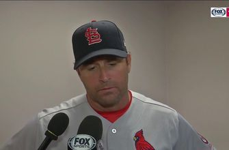 Matheny on Ozuna's play: 'You teach them to be aggressive'