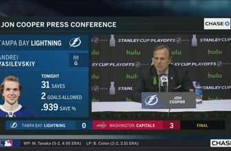 Jon Cooper critical of Lightning's dearth of shots in Game 6