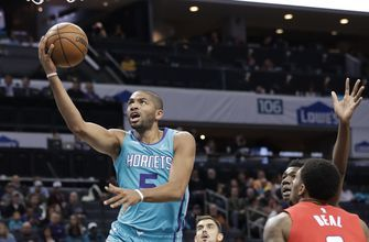 Walker, Batum lead Hornets past Wizards 123-110