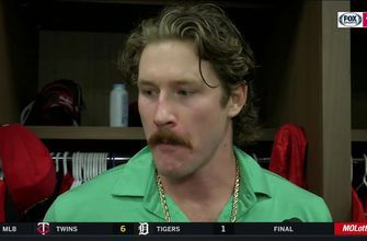 Mikolas on batting in the first inning: 'I didn't even have my batting gloves ready'