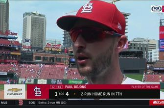 DeJong after knocking off Reds: 'Just a big team win today'