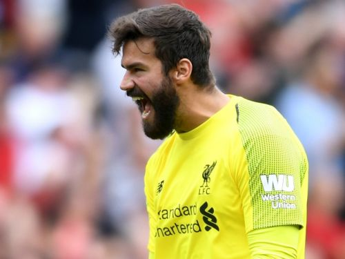 Alisson: 'Liverpool goalkeeping coach has made me better'