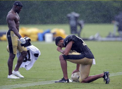 Undrafted rookie Keith Kirkwood turning heads at Saints camp
