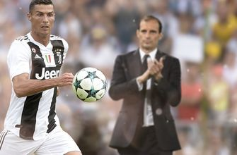 Juventus Manager Max Allegri on Ronaldo: 'He's shown extraordinary things to me.'