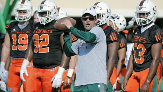 UM coach Manny Diaz talks Dan Enos, quarterbacks, offensive scheme and more