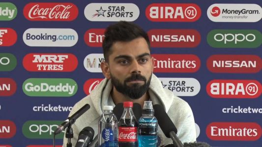 We cannot let the emotional of the match get to us - Kohli