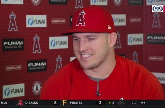 Mike Trout reflects on his journey to 1,000 games