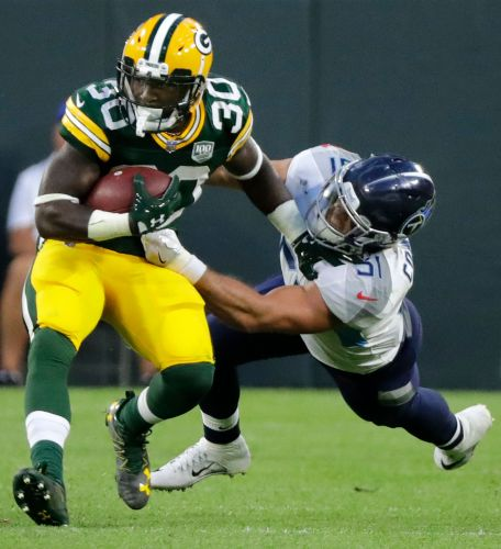 Packers' Jamaal Williams accuses Steelers LB Vince Williams of injuring ankle, dirty play