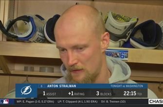 Anton Stralman: I think we backed off too much after taking the lead