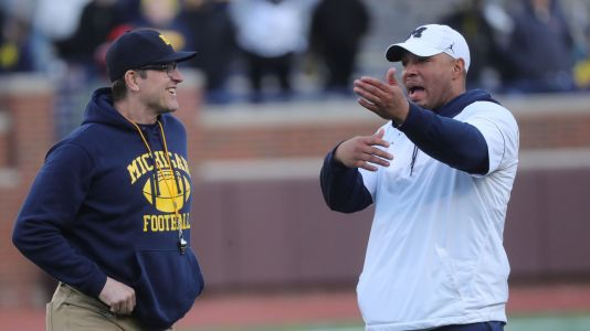 Michigan's Josh Gattis: Jim Harbaugh's been hands-off with new offense