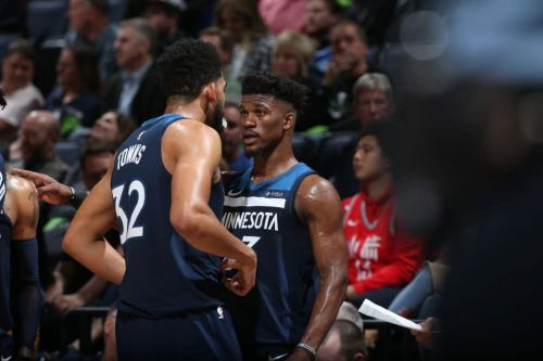Report: Jimmy Butler and Karl-Anthony Towns Remain at Odds