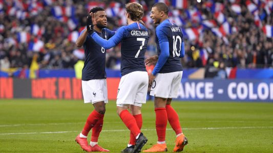 Griezmann is 'the boss' for France, says Mbappe