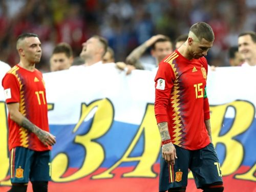 'Go to penalties and pray' - Fabregas 'speechless' following Russia's upset of Spain