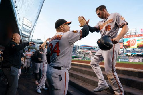 Watch: Orioles' Trey Mancini receives standing ovation in return from cancer