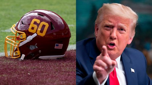 Washington football team deletes tweet mocking Donald Trump after win over Cowboys