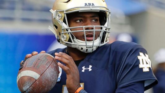 QB Wimbush heading from Notre Dame to UCF