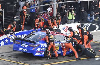 Truex overcomes early problems to win Coca-Cola 600