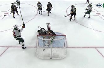 WATCH: Wild's Foligno, Staal score less than two minutes apart