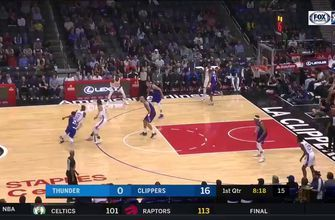 HIGHLIGHTS: Alex Abrines gives push off the bench in loss to LA
