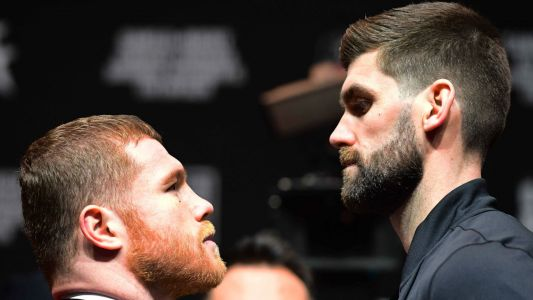 Canelo vs. Rocky: Fighters make weight for bout at Madison Square Garden