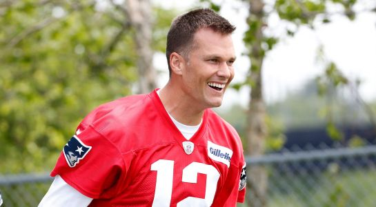 Tom Brady got a kick out of being listed as a 22-year-old on New England Patriots' roster