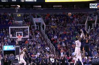 HIGHLIGHTS: Suns take down West-leading Nuggets