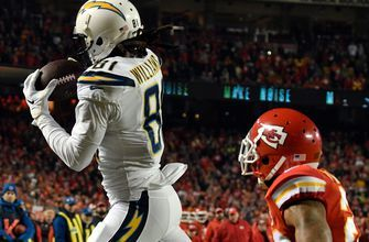 LA Chargers WR Mike Williams named AFC Offensive Player of the Week