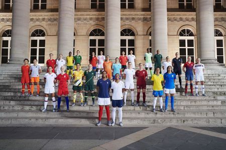 Soccer: Nike unveils 14 national kits in women's World Cup push