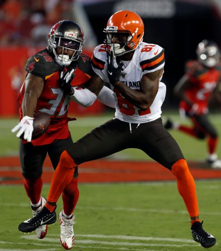 Buccaneers rally late, beat Browns 13-12 on rookie's FG