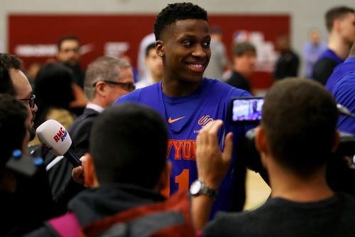 Knicks grab London spotlight ahead of matchup with Wizards