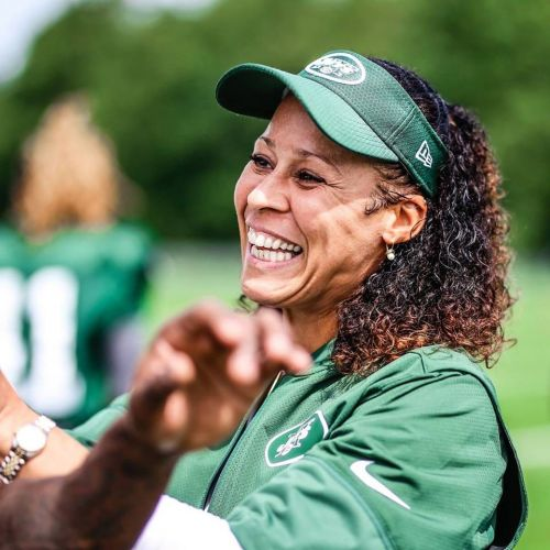 Jets' first female coach Collette V. Smith on surviving rape and seeking to inspire