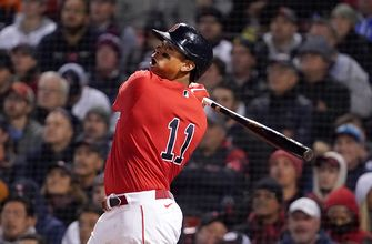 Rafael Devers crushes dinger to help Red Sox extend lead against Astros, 12-3
