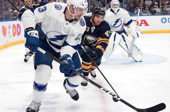 Anthony Cirelli goal not enough to stop Sabres in 2-1 loss Tuesday