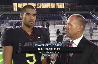 DJ Uiagalelei named finalist for Gatorade National Football Player of the Year Award