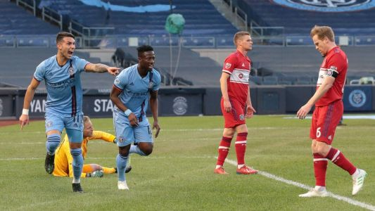 Castellanos scores as NYCFC beat Fire for first win streak of season