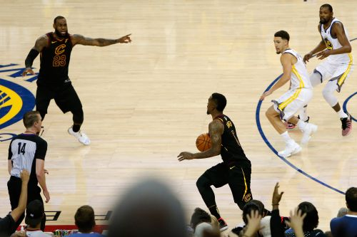 Finally something positive for LeBron from that Game 1 fisaco