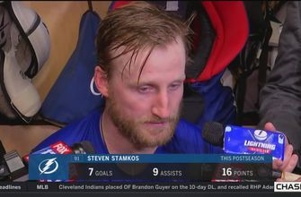 Steven Stamkos: We worked so hard these 3 rounds, and now it's over