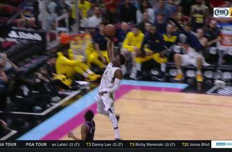 WATCH: Pacers go on a 12-0 run to end the game and topple Heat