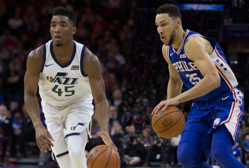 Mitchell, Simmons Voted Unanimous All-Rookie First Teamers