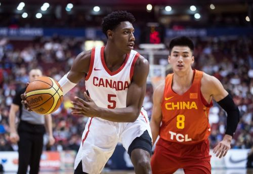 Mississauga teen helps Canada beat China at Pacific Rim Basketball Classic