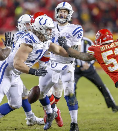 Insider: Colts offensive line fails to live up to reputation in playoff loss to Chiefs