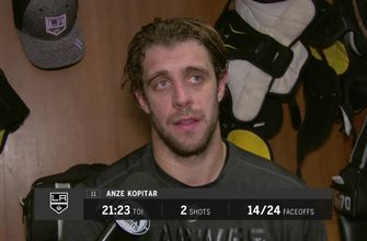 Anze Kopitar and LA Kings fall to Wild