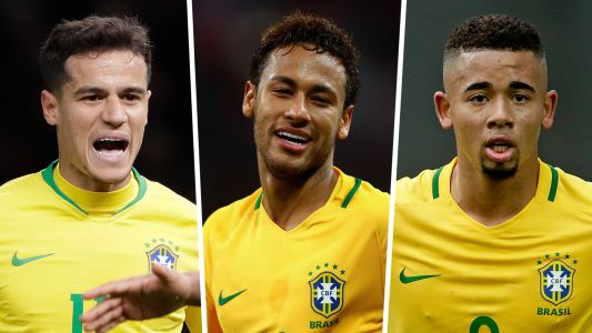 Brazil's World Cup squad: Neymar, Coutinho & all 23 players at Russia 2018