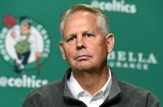 Nick Wright and Cris Carter on Danny Ainge's comment on LeBron leaving the East