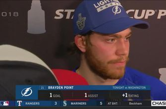 Brayden Point: Hopefully we can get some momentum from this