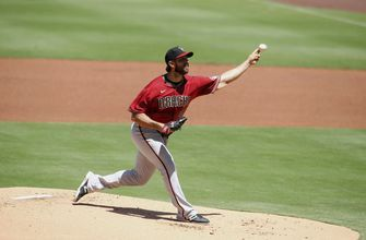 Arizona places Bumgarner on injured list with back strain