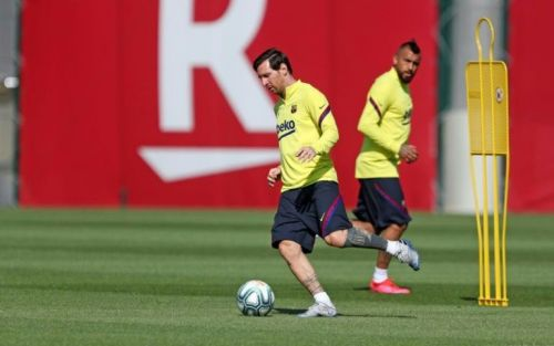 La Liga clubs to resume full training next week