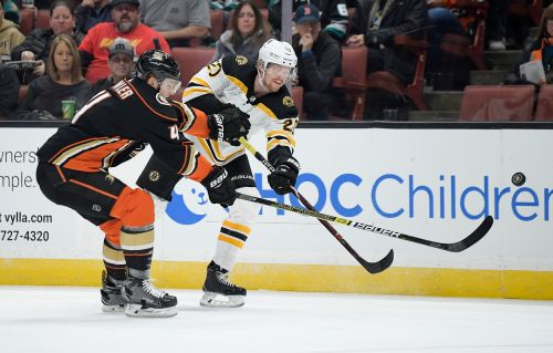 Bruins beat Ducks 3-0 for 4th straight win