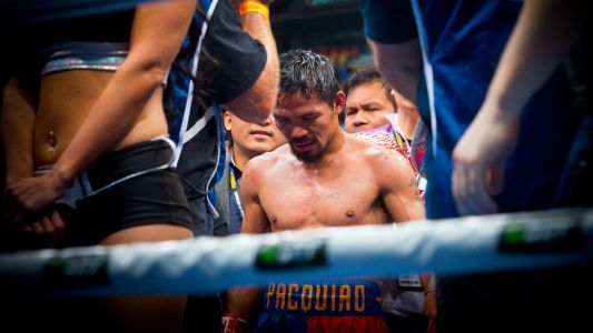 Manny Pacquiao is fighting again and nobody cares